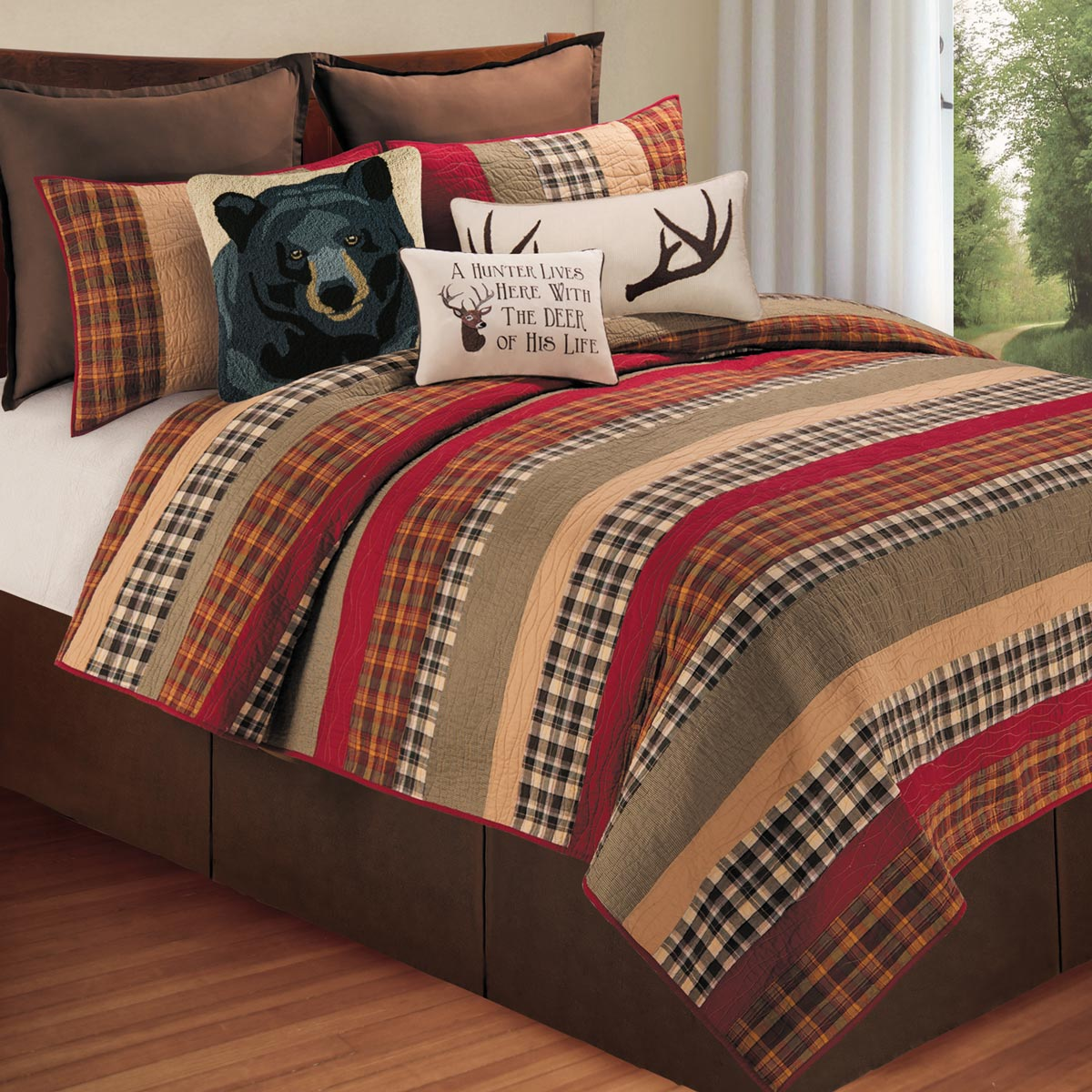 Exceptionnel Log Cabin Bedding Clearance