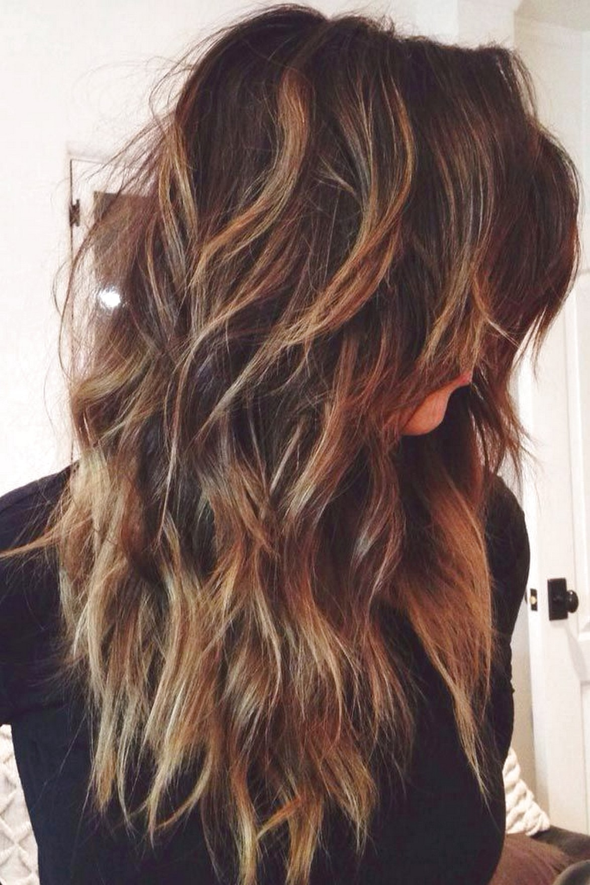 The Simple Way To Style Long Hair Lots Of Layers Nextculture