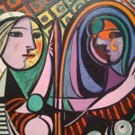 Pablo Picasso's Girl Before a Mirror, reflecting on her true self