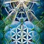 Ancient Future by Krystleyez, a fractal image science of hallucinations