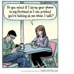 technology and communication cartoon