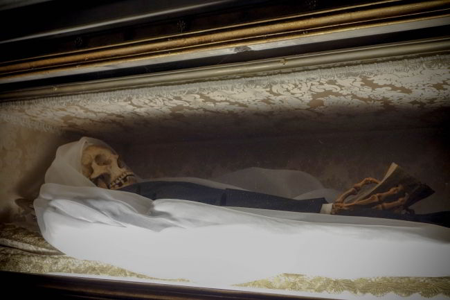 picture of corpse of Francesca Romana